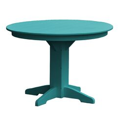 Newport Dining Table Finish: Ocean Blue