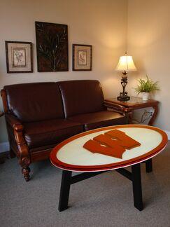 Ncaa Coffee Table NCAA Team: Wisconsin