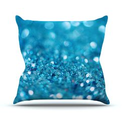 Swimming by Beth Engel Throw Pillow Size: 16'' H x 16'' W x 1