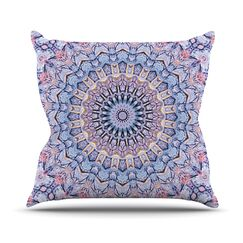 Summer Lace II by Iris Lehnhardt Throw Pillow Size: 26