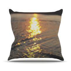 Cute as a Button Outdoor Throw Pillow Size: 20