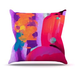 Vespa II Outdoor Throw Pillow Size: 14