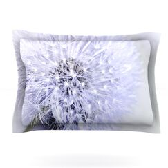 Lavender Wish by Debbra Obertanec Featherweight Pillow Sham Size: Queen, Fabric: Cotton