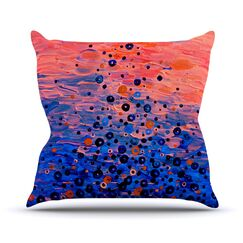 What Goes Up by Ebi Emporium Throw Pillow Size: 18