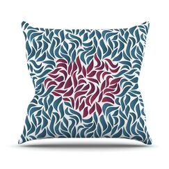 Desire by Nick Atkinson Throw Pillow Size: 18