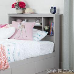 Reevo Twin Bookcase Headboard