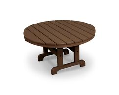 Cape Cod Chat Table Finish: Tree House, Table Size: 36
