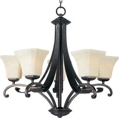 Cottrell 5-Light Shaded Chandelier