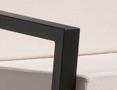 Vero 6 Piece Sunbrella Sofa Set with Cushions Fabric: Bird's Eye, Color: Textured Black