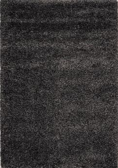 Barry Luxurious Speckled Charcoal Area Rug Rug Size: 7'10