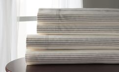 3 Piece 300 Thread Count 100% Cotton Sheet Set Size: Queen, Color: Taupe