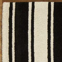 Tenley Black & White Rug Rug Size: Runner 2'6