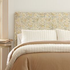 Langley Upholstered Headboard Upholstery: Lizzy Graphite, Size: King