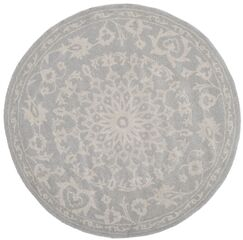 Wool Gray/Silver Area Rug Rug Size: Runner 2'3