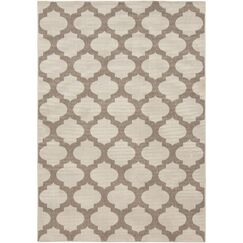 Odell Taupe Indoor/Outdoor Area Rug Rug Size: Rectangle 2'3