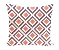 Subline Geometric Throw Pillow Size: 16