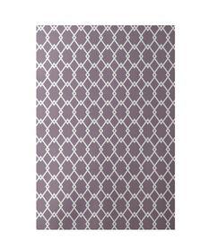 Geometric Purple Indoor/Outdoor Area Rug Rug Size: Rectangle 2' x 3'
