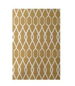 Charleston Geometric Print Dijon Indoor/Outdoor Area Rug Rug Size: Rectangle 2' x 3'