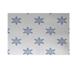 Flurries Decorative Holiday Print White Indoor/Outdoor Area Rug Rug Size: Rectangle 3' x 5'
