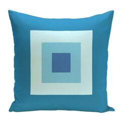 Geometric Decorative Down Throw Pillow Size: 26