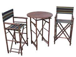 Kherodawala 3 Piece Bar Height Dining Set