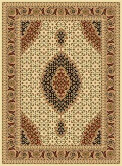 Mona Lisa Ivory Area Rug Rug Size: Rectangle 5'4