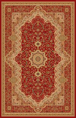 Boody Traditional Oriental Burgundy Area Rug Rug Size: Rectangle 7'10