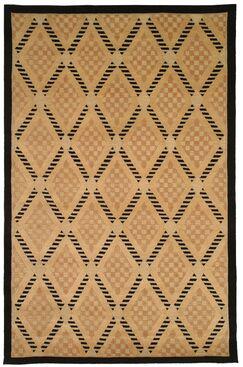 Brown Area Rug Rug Size: Rectangle 5' x 7'6