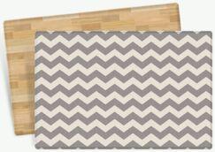 Starner Zig Zag Design Cushion Doormat Mat Size: Rectangle 4'7