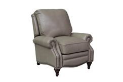 Avery Leather Manual Recliner Upholstery: Wenlock Taupe