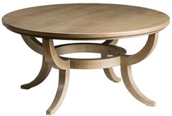 Round Coffee Table Color: Acanthus, Size: 20