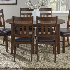 Caracara Counter Height Extendable Solid Wood Dining Table