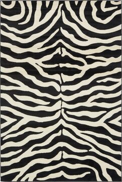 Leif Black Area Rug Rug Size: Rectangle 6' x 9'