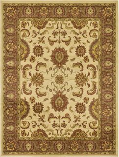 Fairmount Cream Area Rug Rug Size: Rectangle 9' x 12'