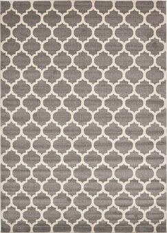 Moore Gray Area Rug Rug Size: Rectangle 10' x 14'
