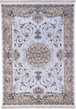 Quince Light Blue Area Rug Rug Size: Rectangle 7' x 10'