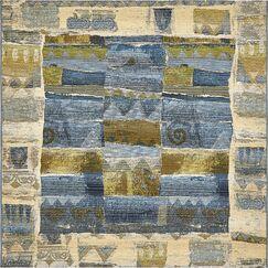 Jamie Blue Indoor/Outdoor Area Rug Rug Size: Square 6'