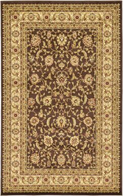Borchert Mert Brown Area Rug Rug Size: Rectangle 5' x 8'