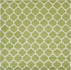 Moore Light Green Area Rug Rug Size: Square 10'