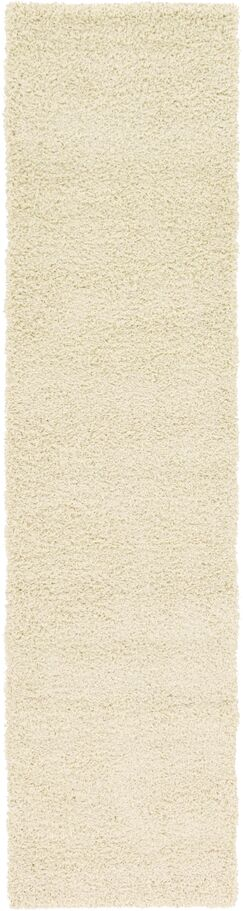Lilah Pure Ivory Area Rug Rug Size: Runner 2'6