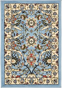 Britannia Blue Area Rug Rug Size: Rectangle 2'2