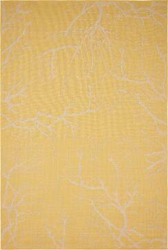 Kopec Yellow Outdoor Area Rug Rug Size: Rectangle 8' x 11'4