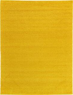 Maxine Dark Yellow Area Rug Rug Size: Rectangle 11' x 16'
