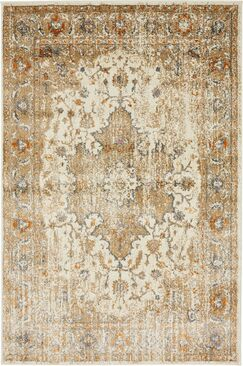 Sepe Beige Area Rug Rug Size: Rectangle 4' x 6'