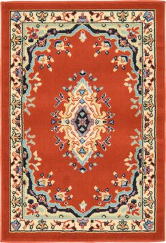 Astral Terracotta Area Rug Rug Size: Rectangle 2'2