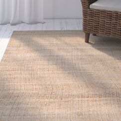 Richmond Hand Woven Natural Indoor Area Rug Rug Size: Rectangle 3' x 5'