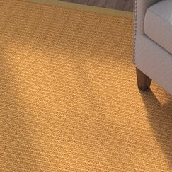 Bullen Hand Woven Brown Area Rug Rug Size: Rectangle 6' X 9'