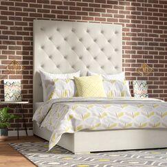 Flickinger Upholstered Panel Bed Size: California King