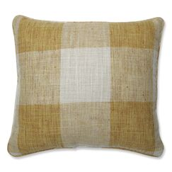 Paschal Check Please Throw Pillow Size: 16.5