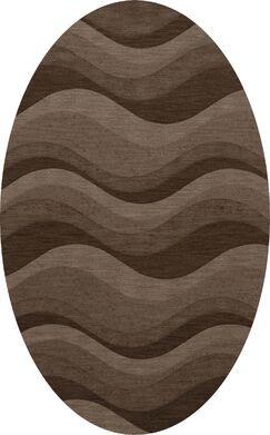 Haller Wool Chipmunk Area Rug Rug Size: Oval 8' x 10'